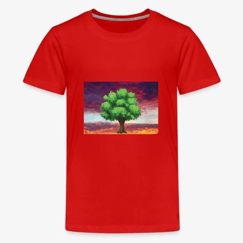 Tree in the Wasteland - Teenage Premium T-Shirt