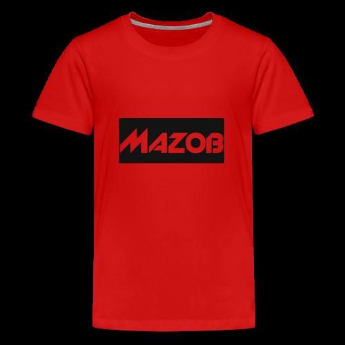 Mazob_Shirt_Design - Teenage Premium T-Shirt