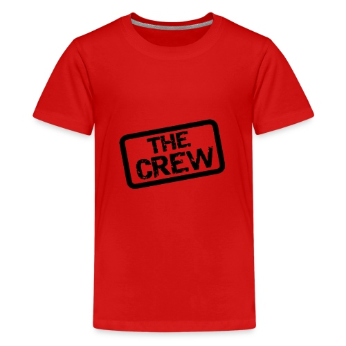 Crew logo - Premium-T-shirt tonåring