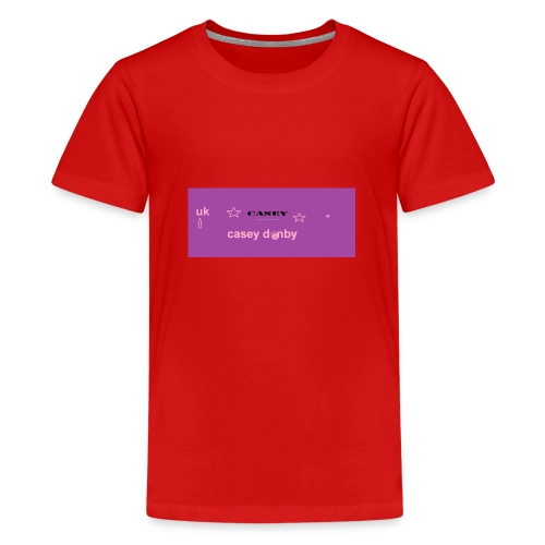 casey first merch :O - Teenage Premium T-Shirt