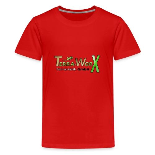 Terra-Worx Logo - Teenager Premium T-Shirt
