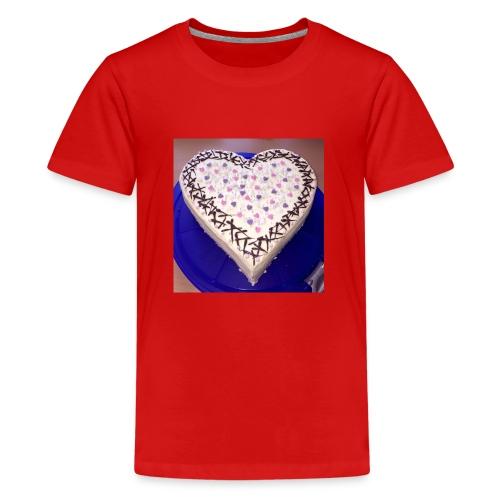 Bilder und Video Galaxy S4 1249 - Teenager Premium T-Shirt