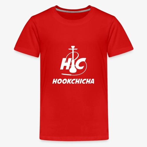 Design Officiel de la team HookChicha - T-shirt Premium Ado