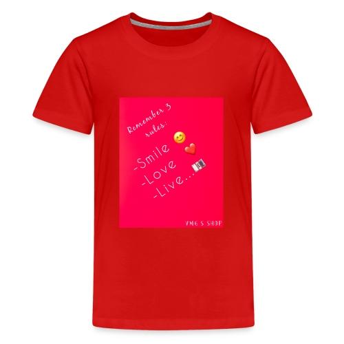 Logos - Teenage Premium T-Shirt