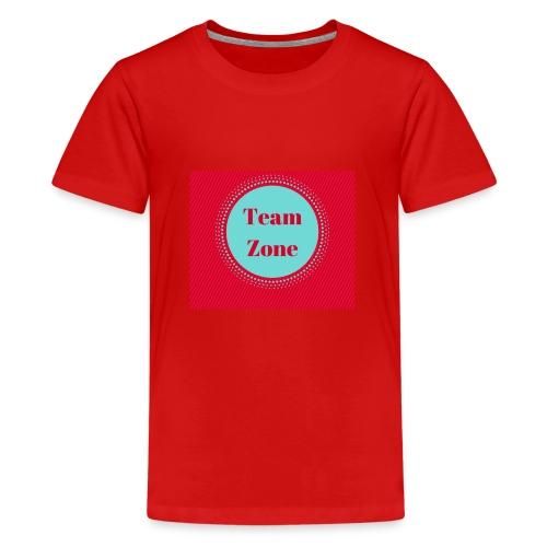 The Zone - Teenage Premium T-Shirt