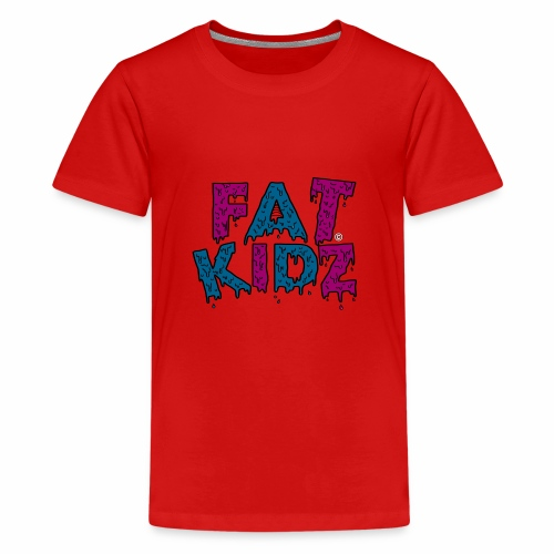 Fat Kidz - Premium-T-shirt tonåring