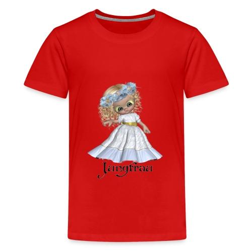 jungfrau2 - Teenager Premium T-Shirt
