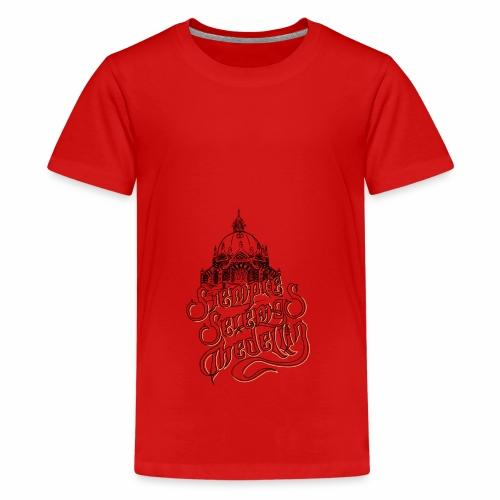 Siempe seremos Medellin - Camiseta premium adolescente