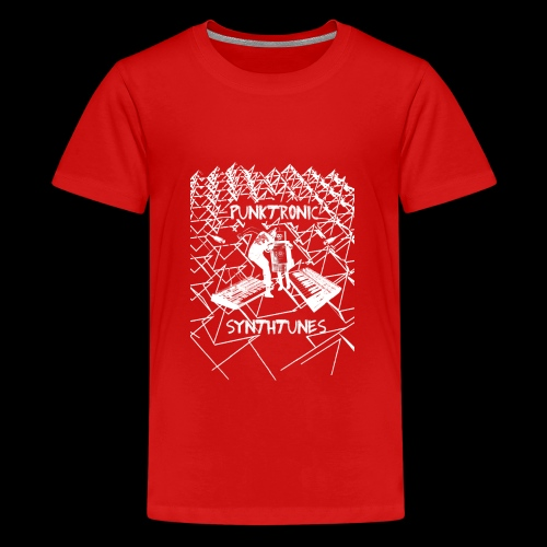 Punktronic Synthtunes - Teenager Premium T-Shirt