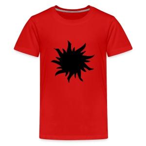 Logo black - Premium-T-shirt tonåring
