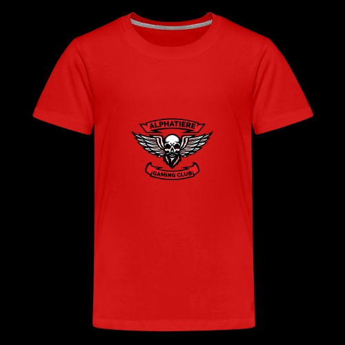 Alphatiere Gaming Club Classic - Teenager Premium T-Shirt