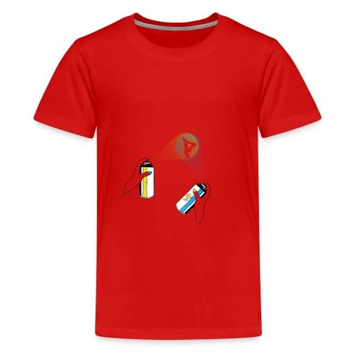 pantin spray - Teenager Premium T-Shirt