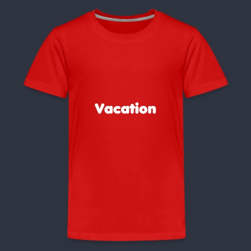 Vacation - Premium-T-shirt tonåring