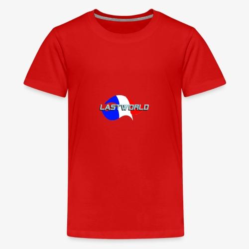 Collection LastWorld Drapeau Français - T-shirt Premium Ado