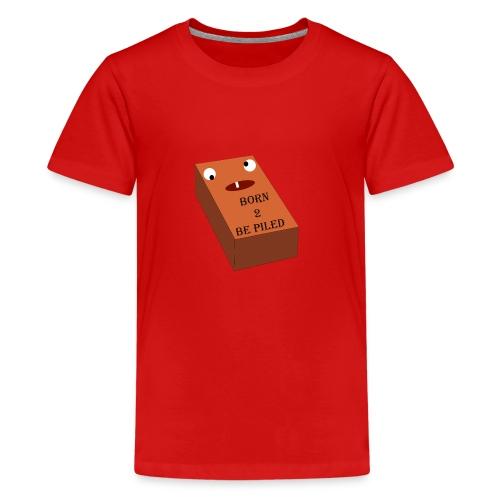 Brick Life - Teenager Premium T-shirt