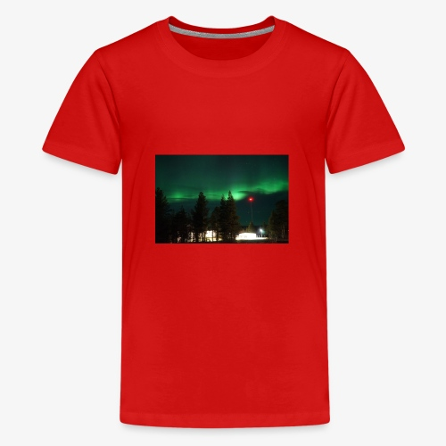Aurora Boreale - Maglietta Premium per ragazzi