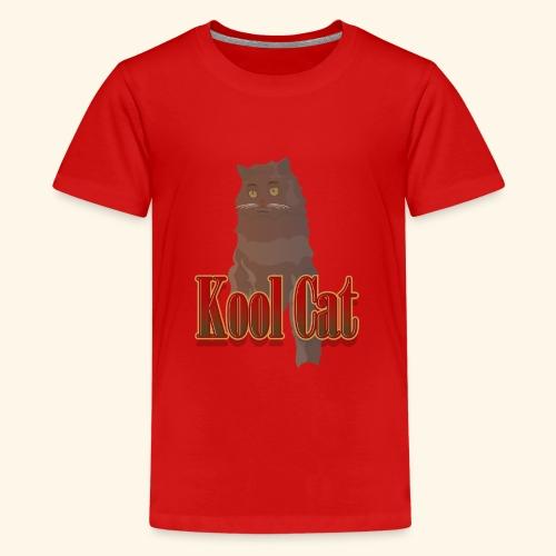 Kool cat - Teenager Premium T-Shirt