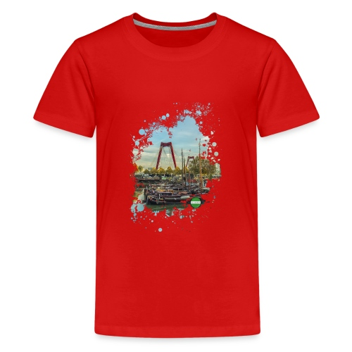 rotterdam splash oude haven 2mini fw - Teenager Premium T-shirt