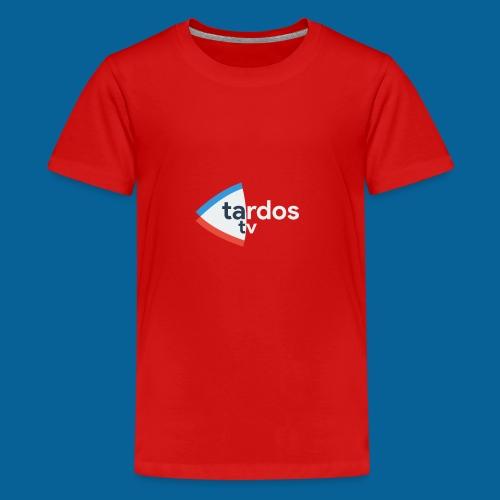 Tardos TV Logo version 2 - T-shirt Premium Ado