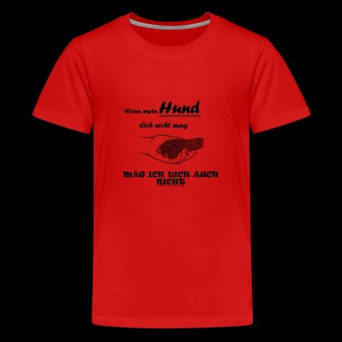 Hundeliebhaber T-shirt - Teenager Premium T-Shirt