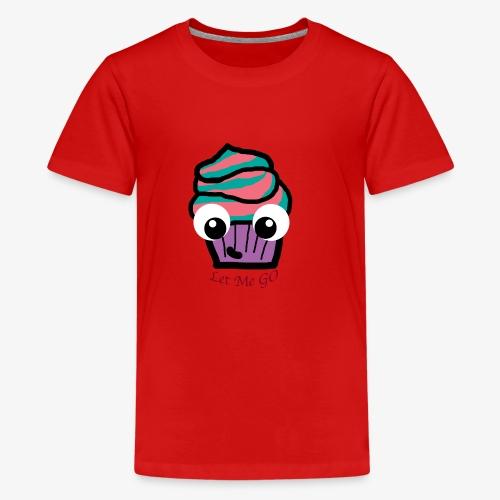 LetMeGO Cupcake - Teenager Premium T-shirt