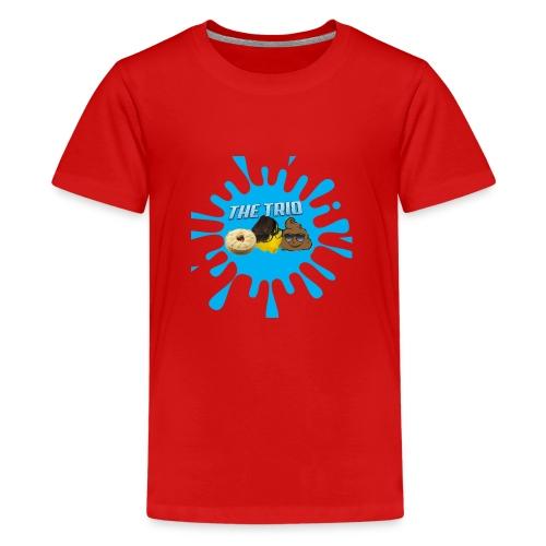 The Trio (Zak O'Leary) - Teenage Premium T-Shirt
