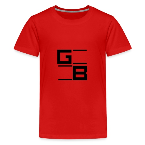 logo gwn besher - Teenager Premium T-shirt