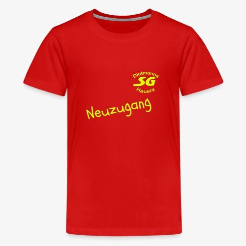 neuzugang - Teenager Premium T-Shirt