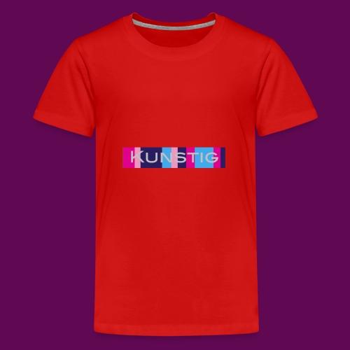 Hoofdlogo - Teenager Premium T-shirt