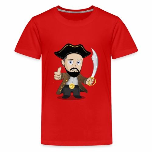 KaeptnTV Bild - Teenager Premium T-Shirt