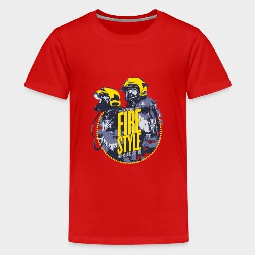 Firestyle 1 - Teenager Premium T-Shirt