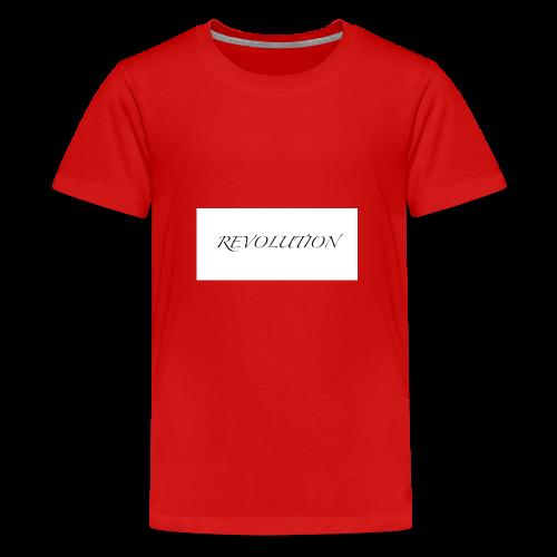 Revolution - Teenage Premium T-Shirt
