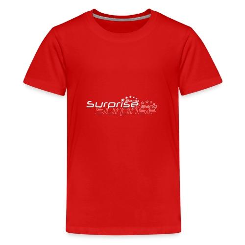 Logo Suprise Band mit Cut-Out - Teenager Premium T-Shirt