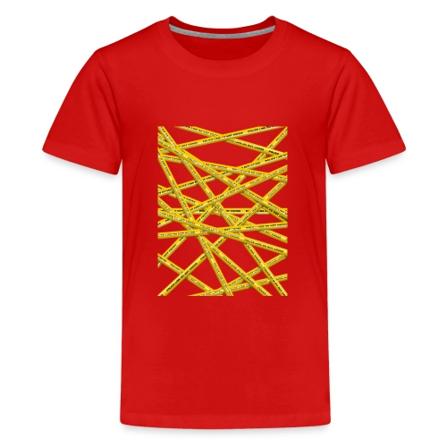 POLICE LINE - Teenage Premium T-Shirt