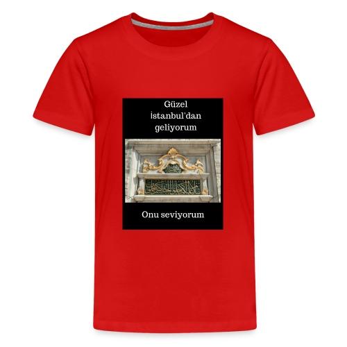 hediye fikirleri, hediyeler, tişörtler, - Teenager Premium T-Shirt