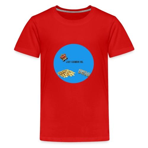 Jaygamernl logo - Teenager Premium T-shirt
