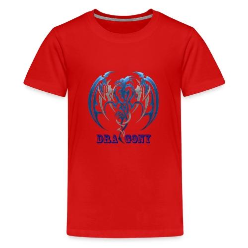 dragony 1 - T-shirt Premium Ado