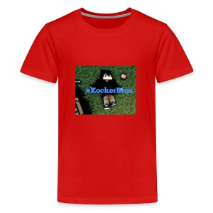 #zockerbros Design - Teenager Premium T-Shirt