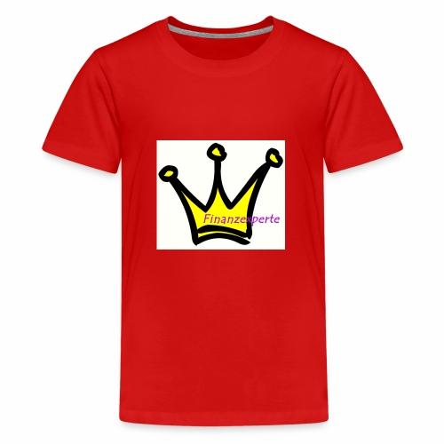 Finanzexperte - Teenager Premium T-Shirt