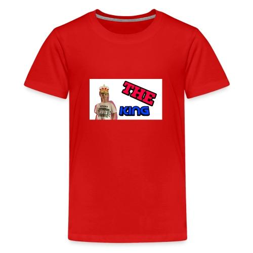 King ramdom (the king of YOUTUBE) - Teenage Premium T-Shirt