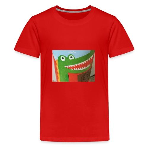Crocodile - Teenage Premium T-Shirt