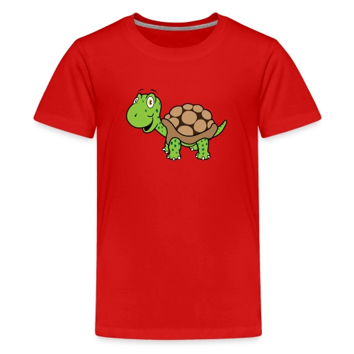 Turtle Solo - Teenager Premium T-shirt