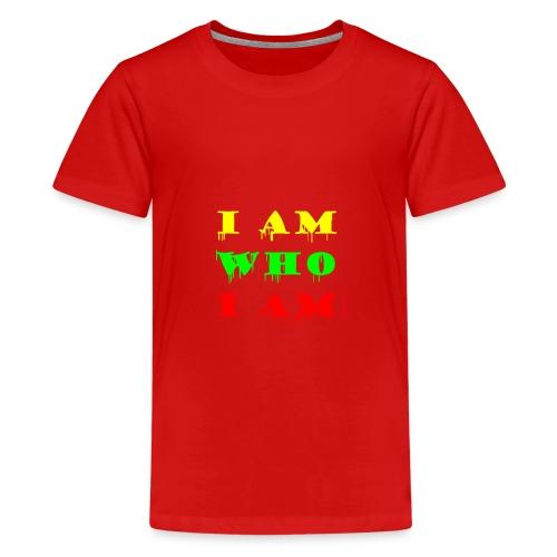 Je suis qui je suis - T-shirt Premium Ado