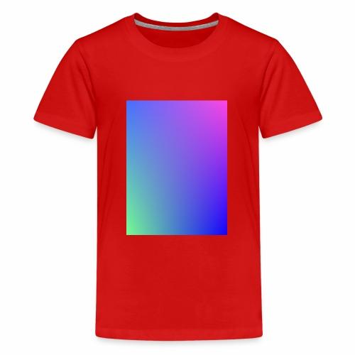 Dégradé tamisé de l'été - T-shirt Premium Ado