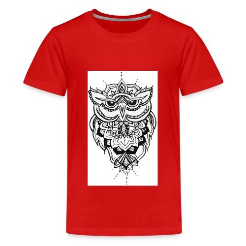 Owl - Teenage Premium T-Shirt