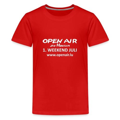 Open Air Hosingen - Teenager Premium T-Shirt
