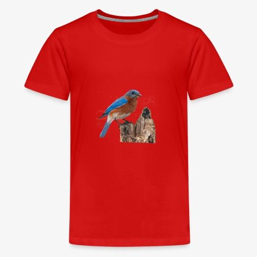 Oiseau Bleu D'été - T-shirt Premium Ado