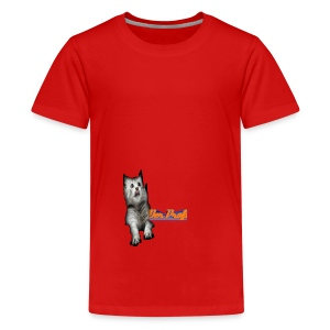 Katzen marcht - Teenager Premium T-Shirt