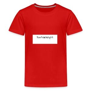 Fortællelyst - Teenager premium T-shirt