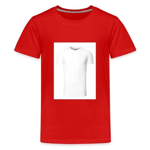 herren basic t shirt weiss - Teenager Premium T-Shirt